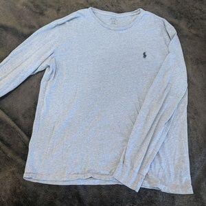 Light Blue Long Sleeve T shirt